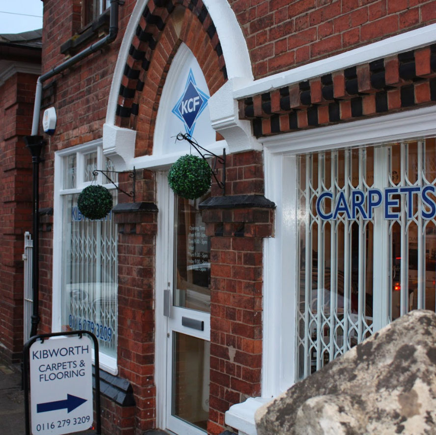 Kibworth Carpets Showroom in Leicester External View