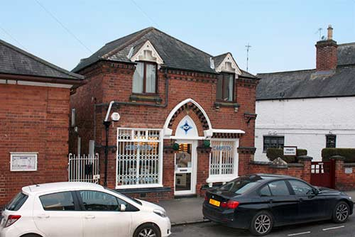 Kibworth Carpets Showroom Exterior View