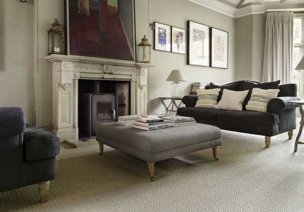 Brockway Natural Tweed Loop Carpet