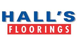Halls Floorings Logo